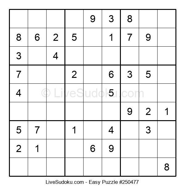 Beginners Puzzle #250477
