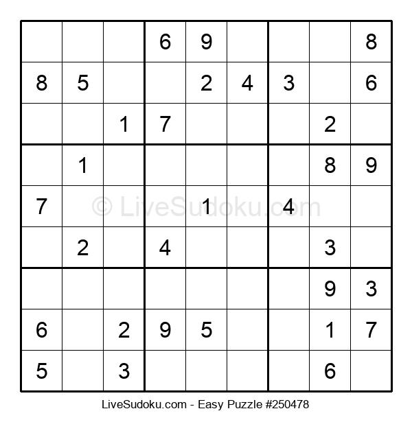 Beginners Puzzle #250478