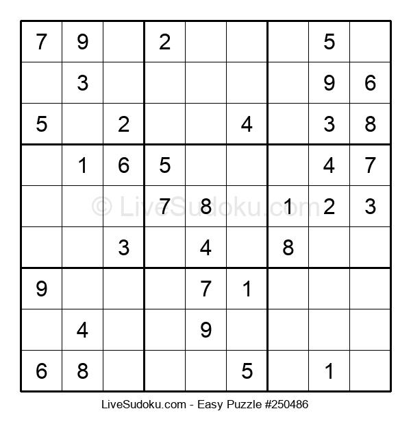 Beginners Puzzle #250486