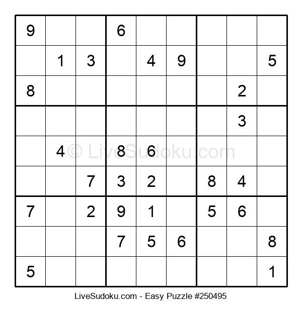 Beginners Puzzle #250495