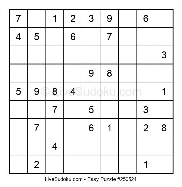 Beginners Puzzle #250524
