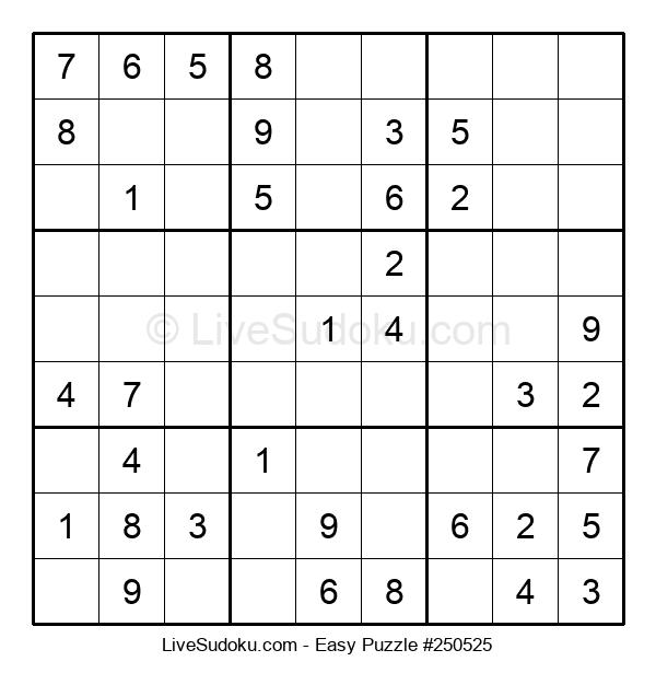 Beginners Puzzle #250525