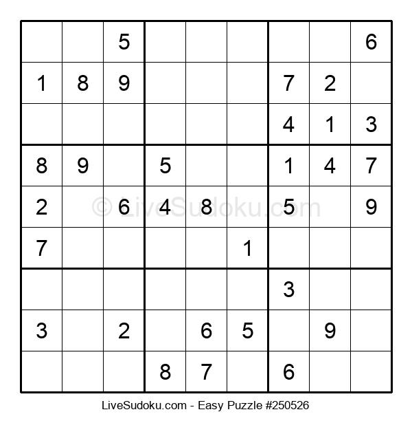 Beginners Puzzle #250526