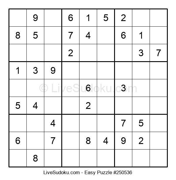 Beginners Puzzle #250536