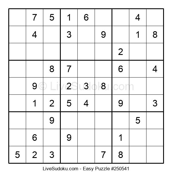 Beginners Puzzle #250541