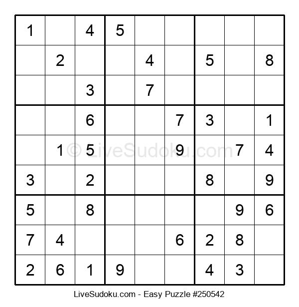 Beginners Puzzle #250542