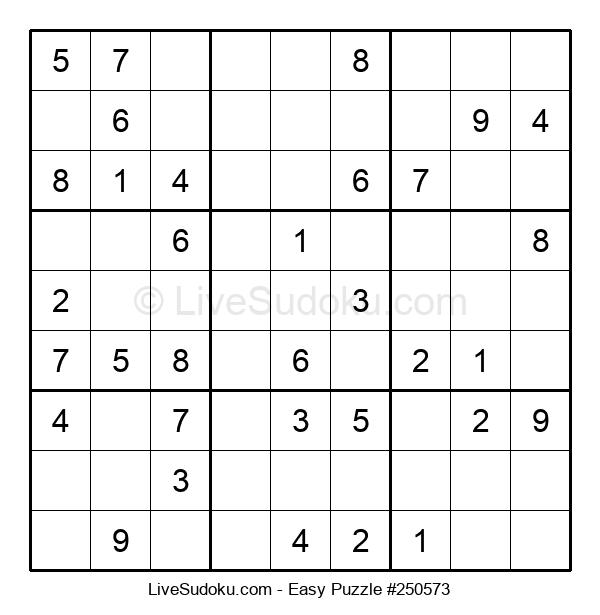 Beginners Puzzle #250573