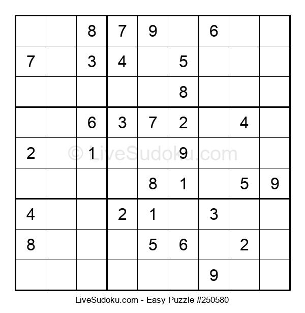 Beginners Puzzle #250580