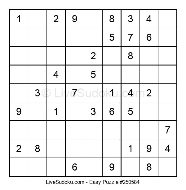 Beginners Puzzle #250584