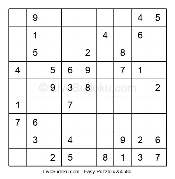 Beginners Puzzle #250585