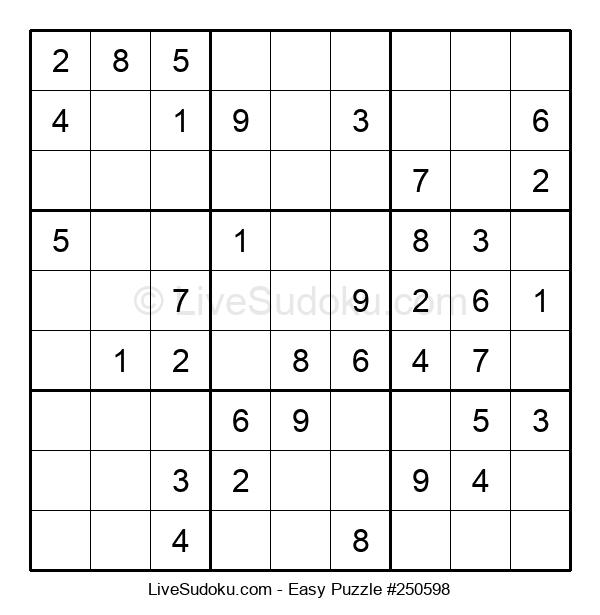 Beginners Puzzle #250598