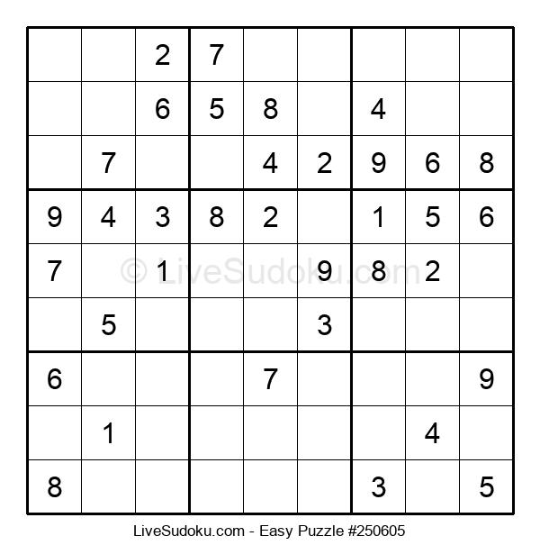 Beginners Puzzle #250605
