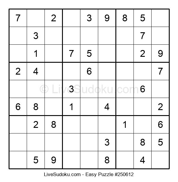 Beginners Puzzle #250612