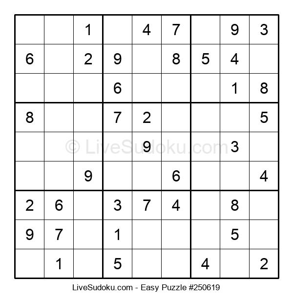 Beginners Puzzle #250619