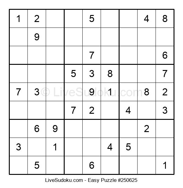 Beginners Puzzle #250625