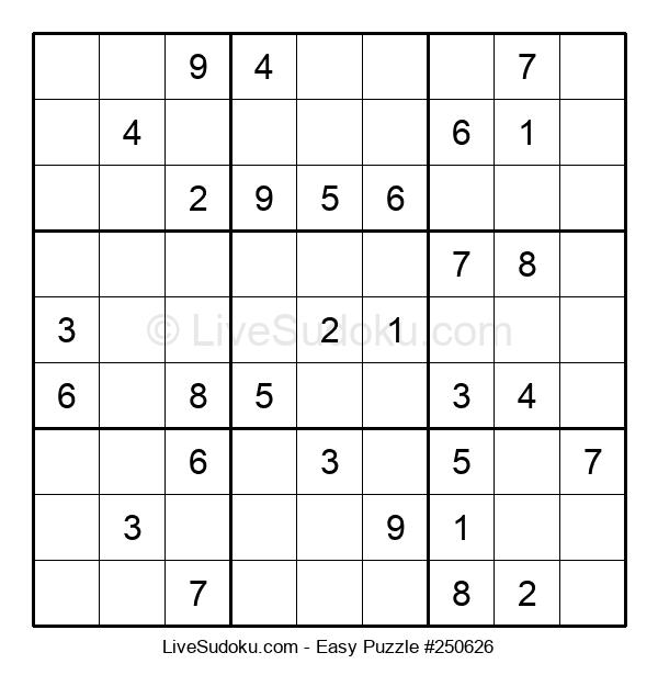 Beginners Puzzle #250626