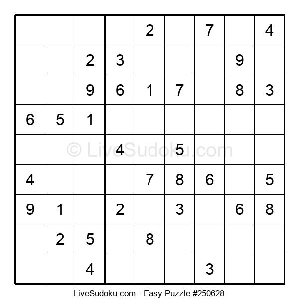 Beginners Puzzle #250628