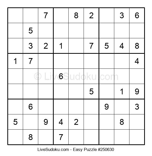 Beginners Puzzle #250630