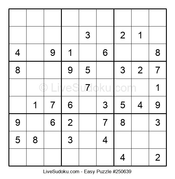 Beginners Puzzle #250639