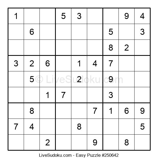 Beginners Puzzle #250642