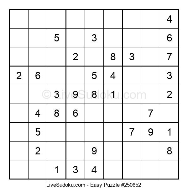 Beginners Puzzle #250652