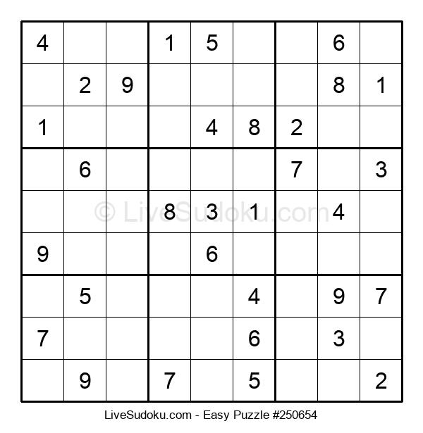 Beginners Puzzle #250654