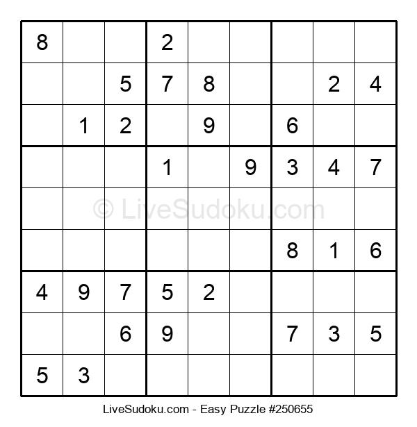 Beginners Puzzle #250655
