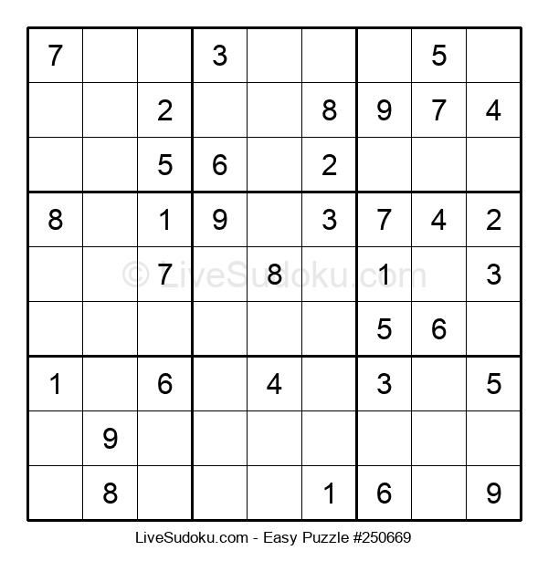 Beginners Puzzle #250669
