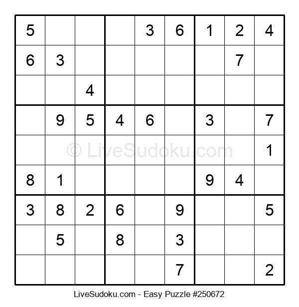 Beginners Puzzle #250672