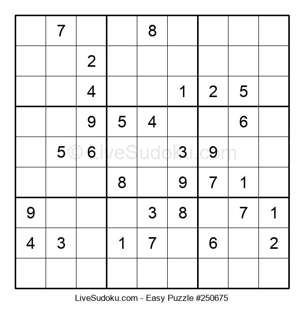 Beginners Puzzle #250675