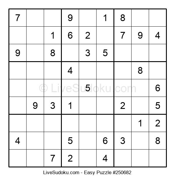 Beginners Puzzle #250682