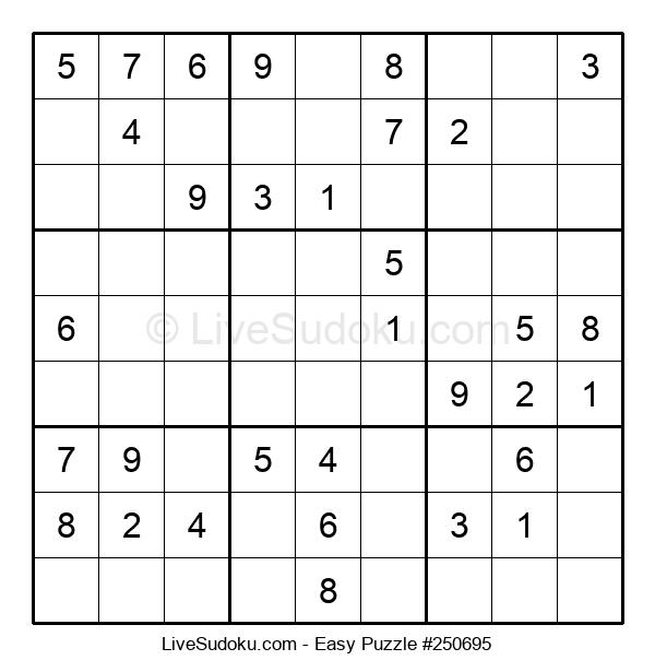 Beginners Puzzle #250695