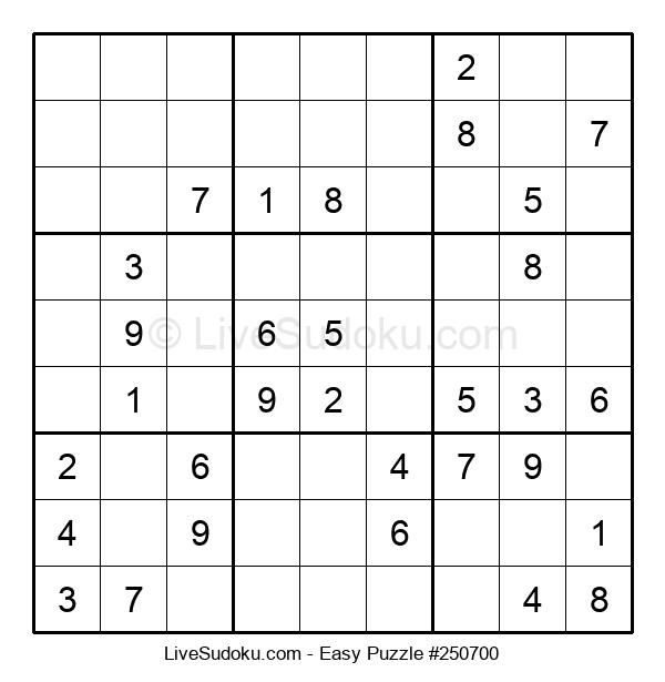 Beginners Puzzle #250700