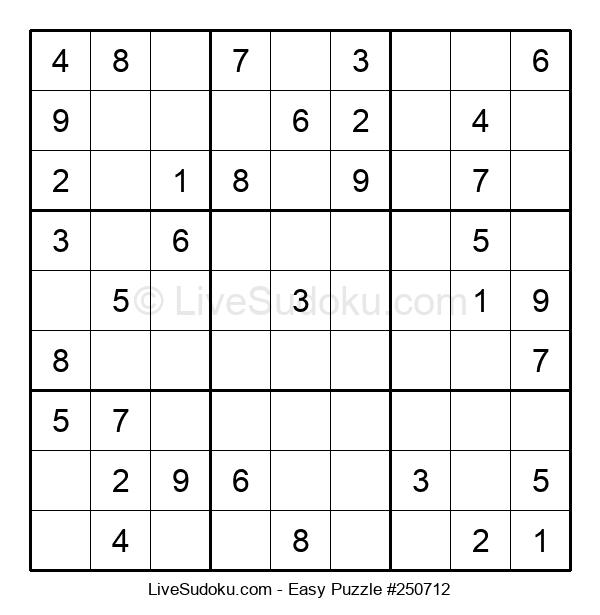 Beginners Puzzle #250712