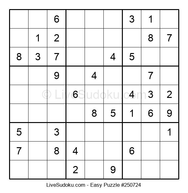 Beginners Puzzle #250724