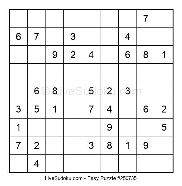 Beginners Puzzle #250735