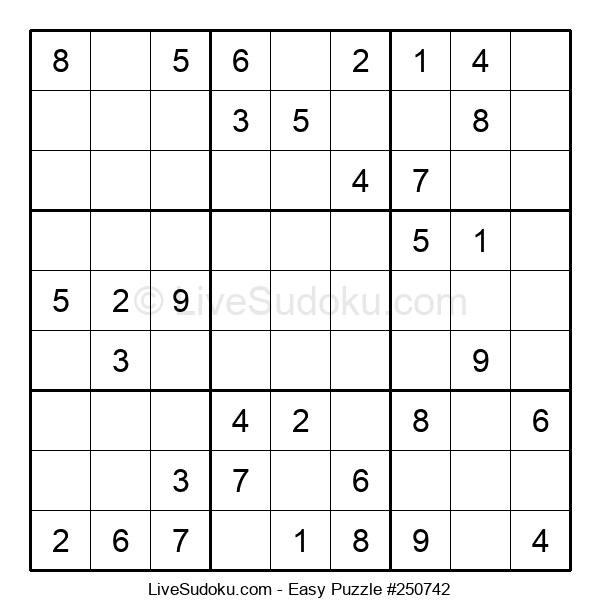 Beginners Puzzle #250742