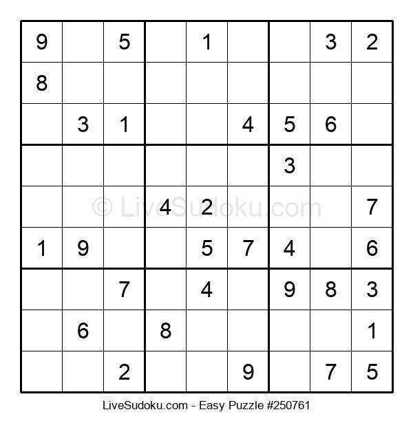 Beginners Puzzle #250761