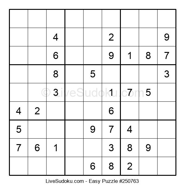 Beginners Puzzle #250763