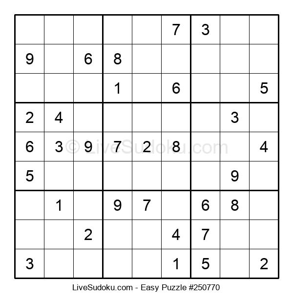 Beginners Puzzle #250770