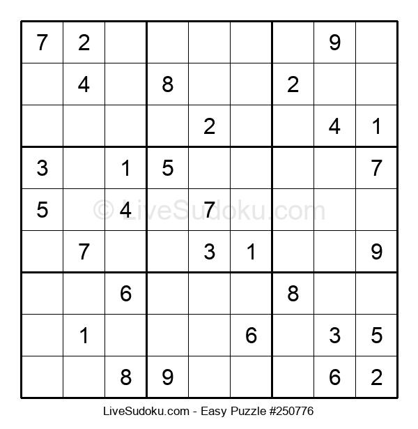 Beginners Puzzle #250776