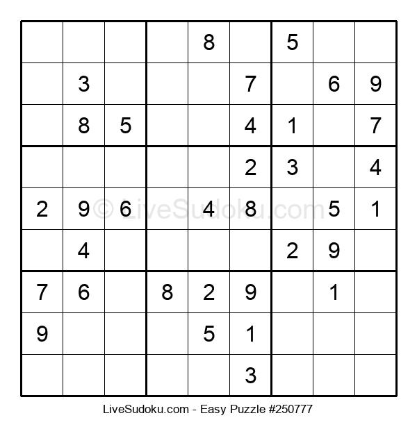 Beginners Puzzle #250777