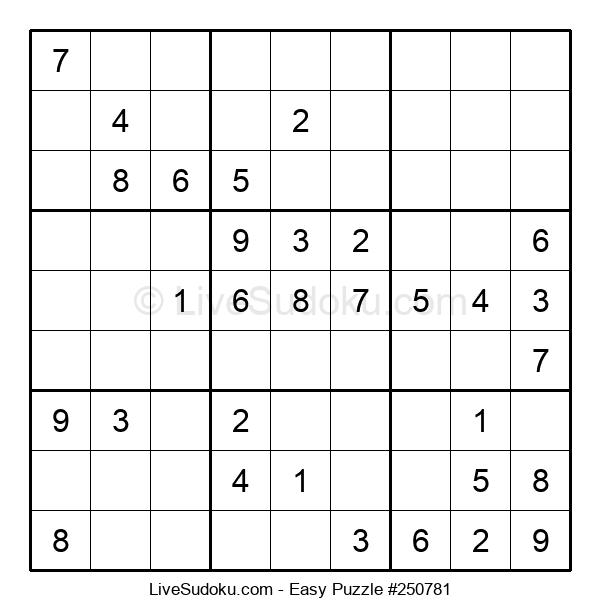 Beginners Puzzle #250781