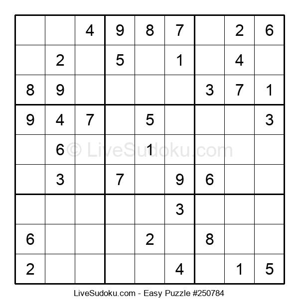 Beginners Puzzle #250784