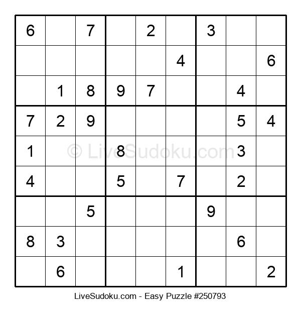 Beginners Puzzle #250793