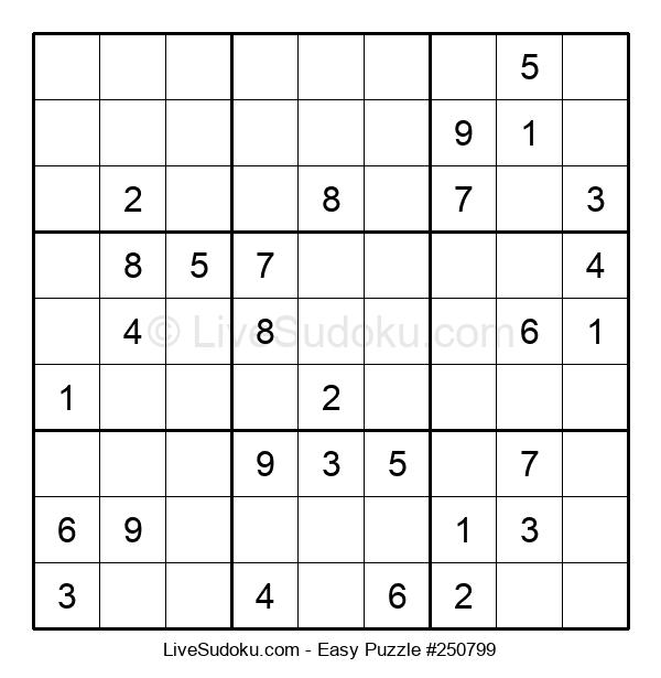 Beginners Puzzle #250799