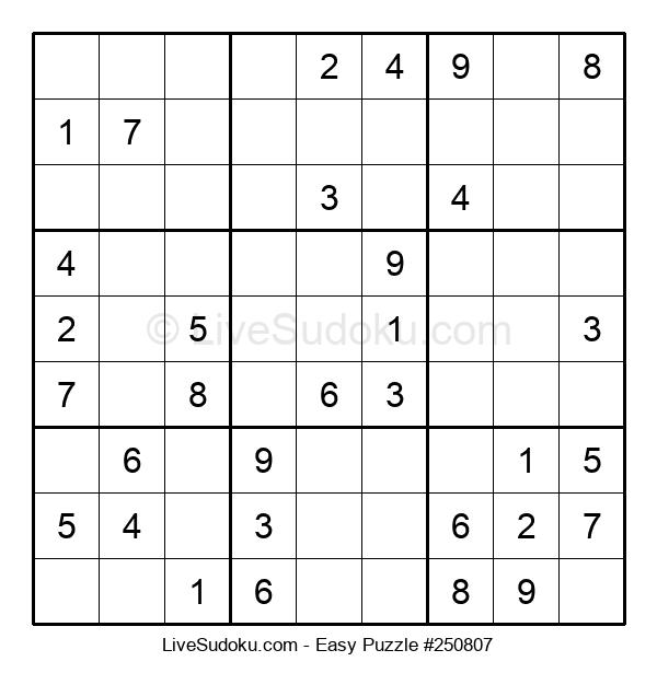 Beginners Puzzle #250807