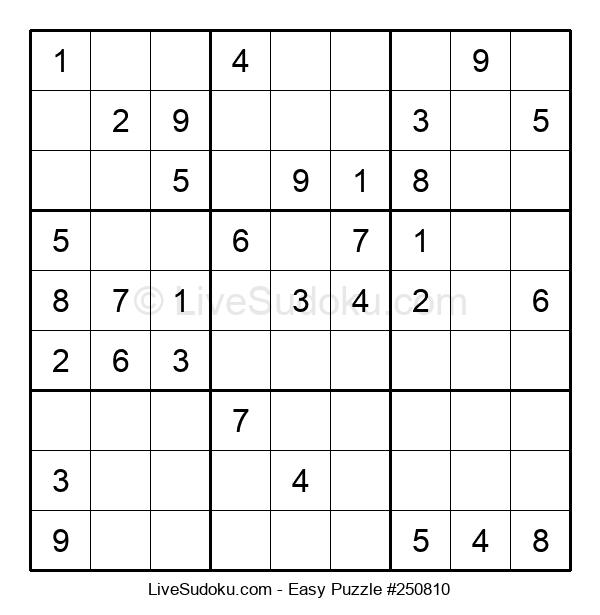 Beginners Puzzle #250810