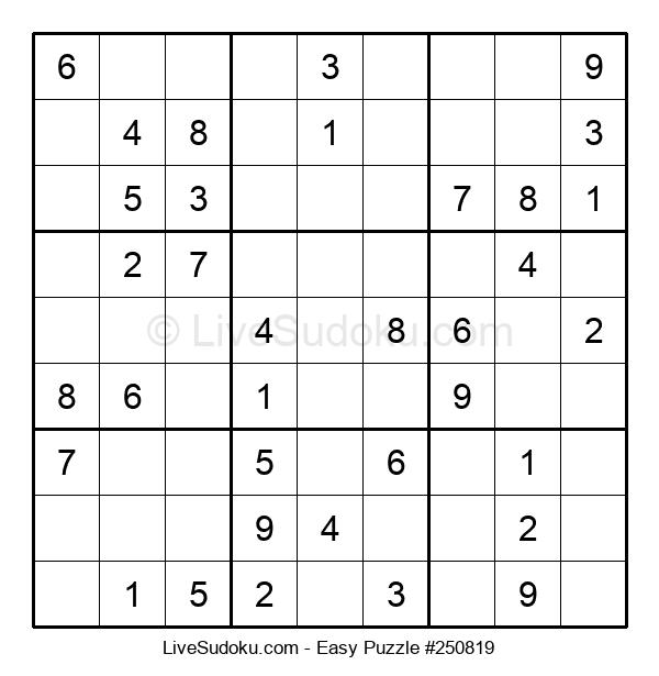 Beginners Puzzle #250819
