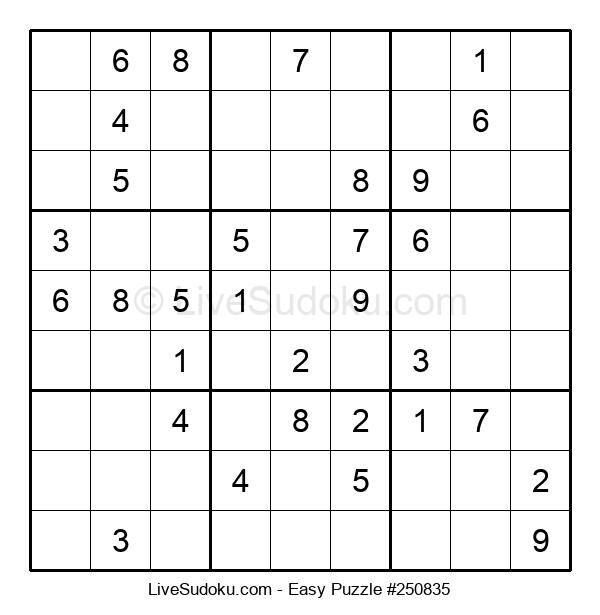 Beginners Puzzle #250835